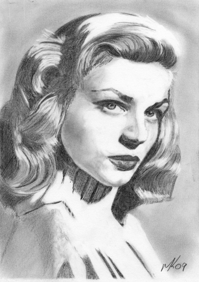 Lauren Bacall by 11mk11